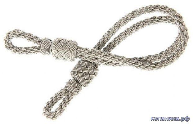 плетеный шнур на офицерскую фуражку вермахт