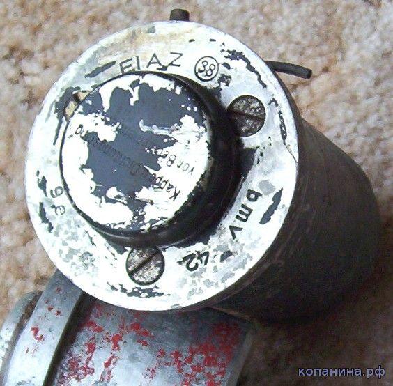 немецкий бомбовый электрический взрыватель EL AZ 38