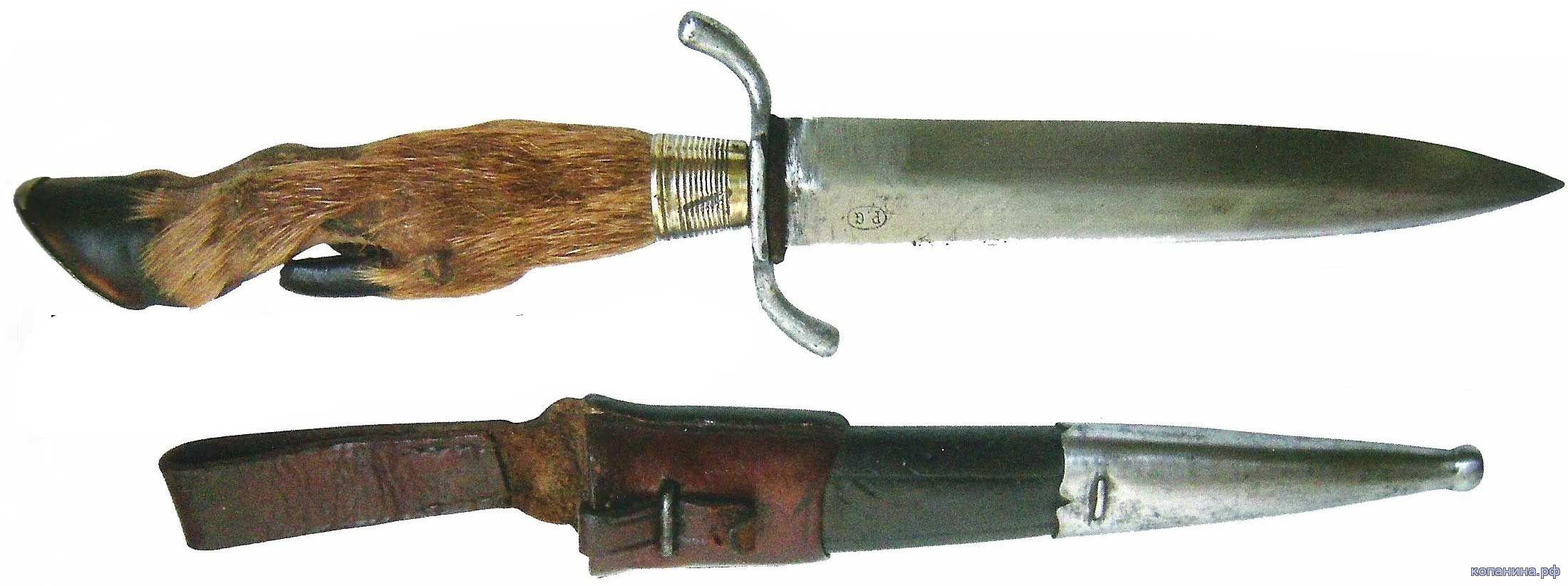 немецкий гражданский нож периода первой мировой войны