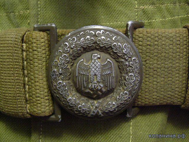 немецкая офицерская пряга африканского корпуса
