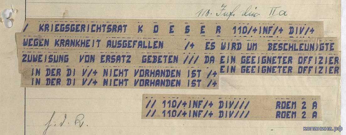 немецкие военные документы и карты