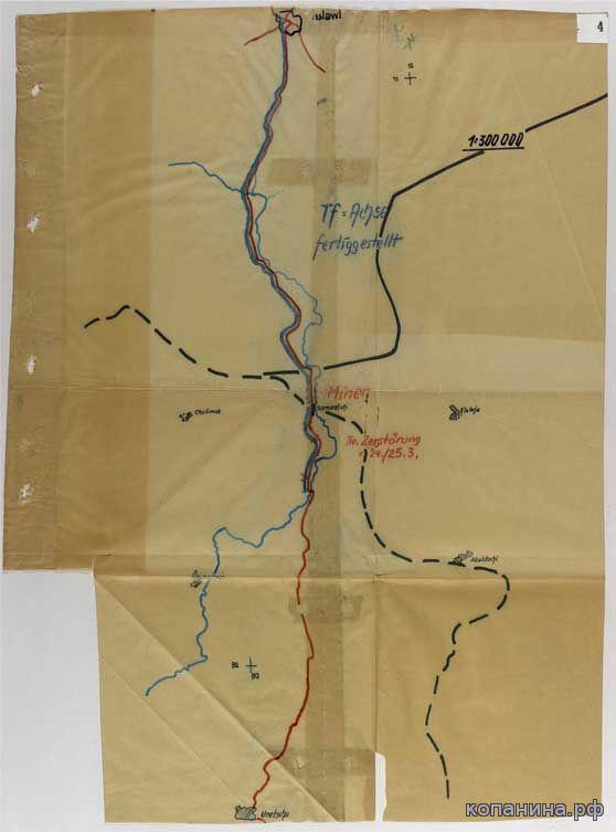 немецкие военные карты