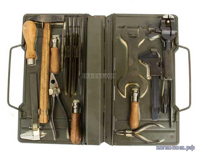 Waffen Werkzeugtasche