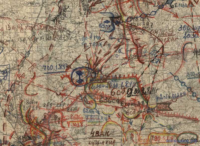 военные карты 1941