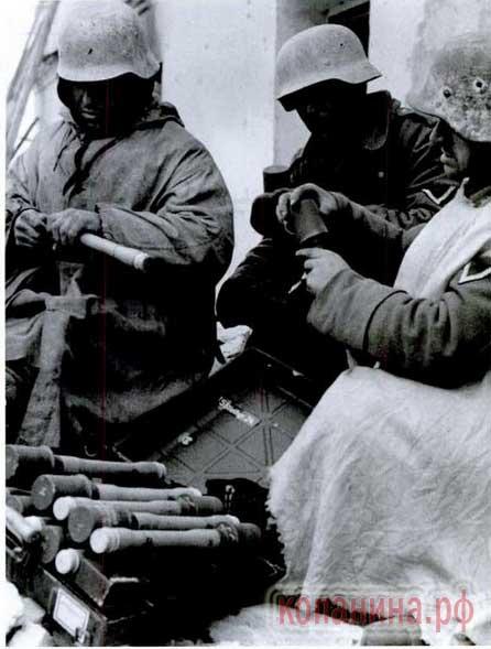 немецкие гранаты м24 колотушки