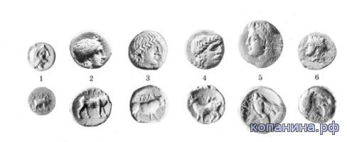 каталог определитель античный монет причерноморья