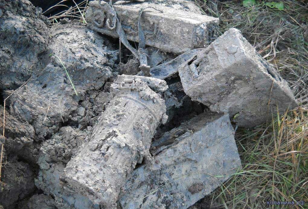 находки копателей из блиндажа