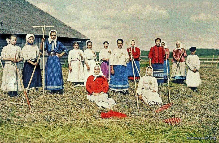 старинные цветные фото Российской империи скачать