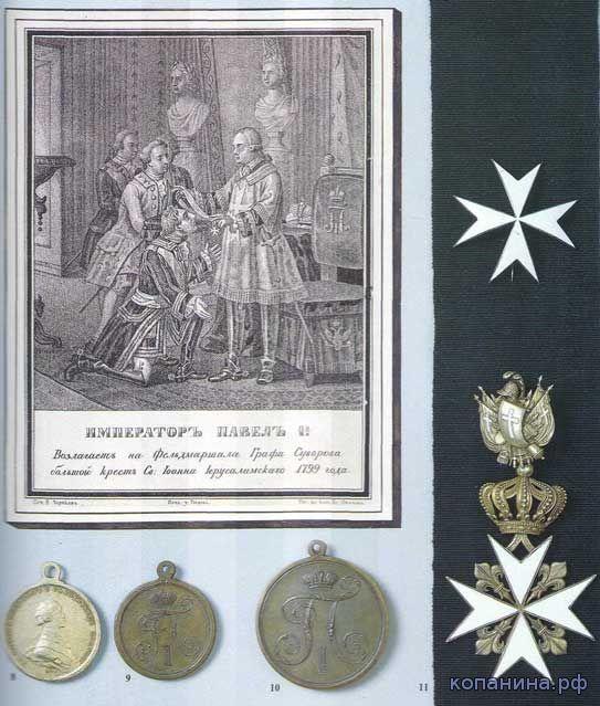 награды российской империи и ссср