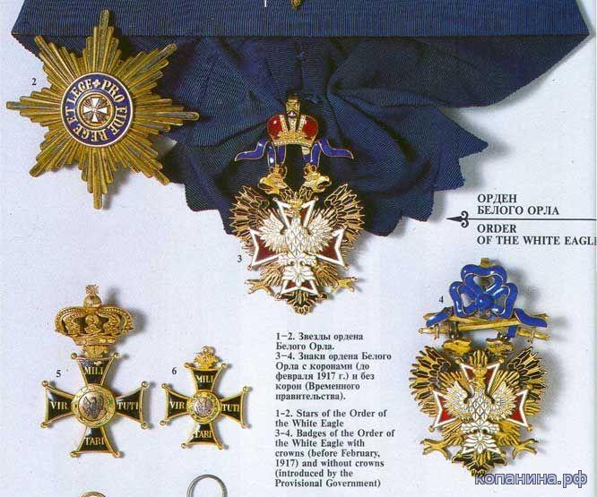 ордена и медали ссср и россия