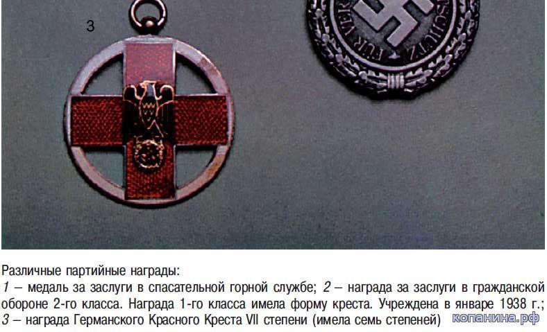 скачать книгу ордена медали третьего рейха