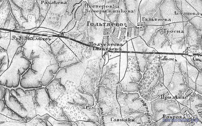 карта шуберт тульская губерния с привязкой скачать