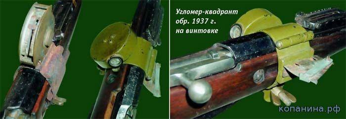 Угломер квадрант ружейного гранатомета дьяконова