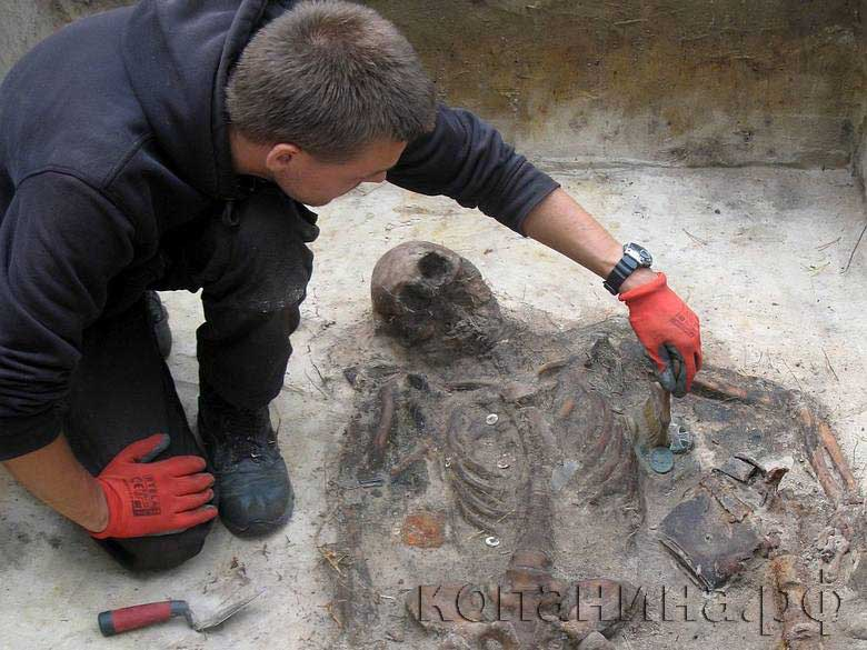 скелет немецкого солдата