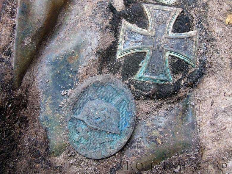 находки железный крест немецкие награды