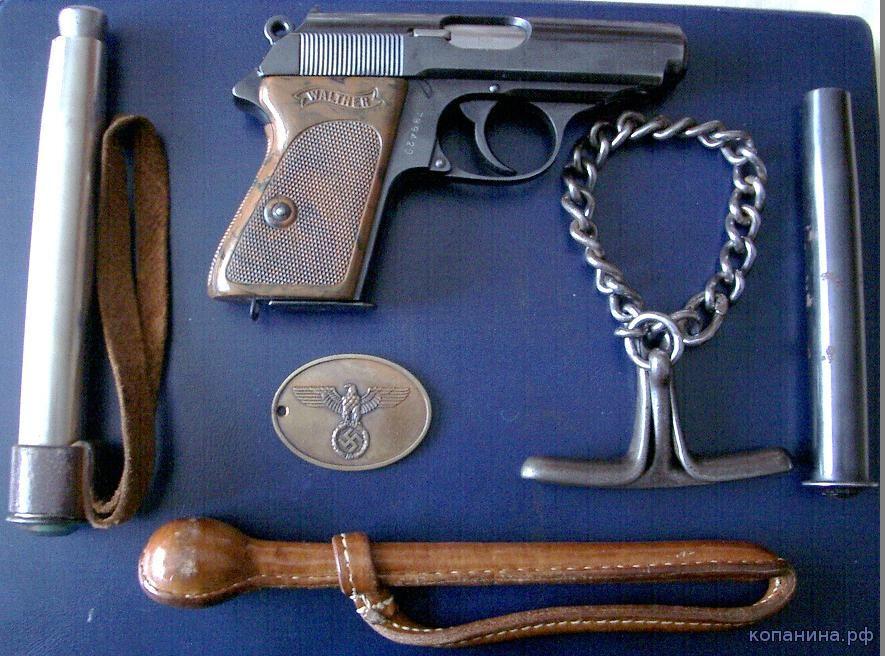 снаряжение полиции третьего рейа- SIPO stahlrute