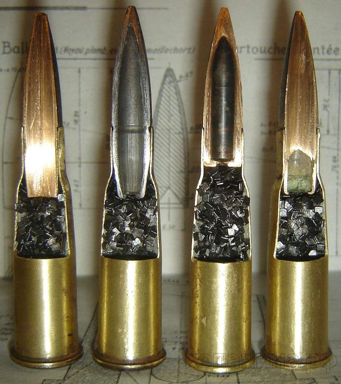 патроны к винтовке Лебеля 8*50R разрезной макет