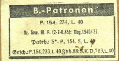 B-Patrone. B-patrone1