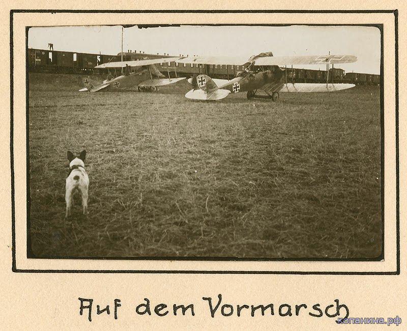немецкий самолет 1918 первая мировая война