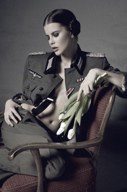 ретро фото эротической немки