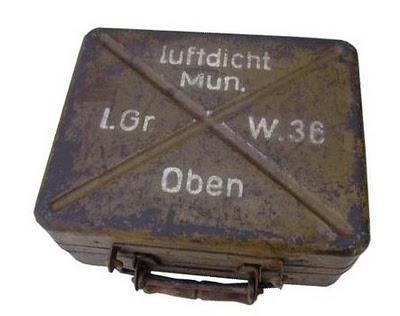 Упаковка к 50мм минометным минам второй мировой