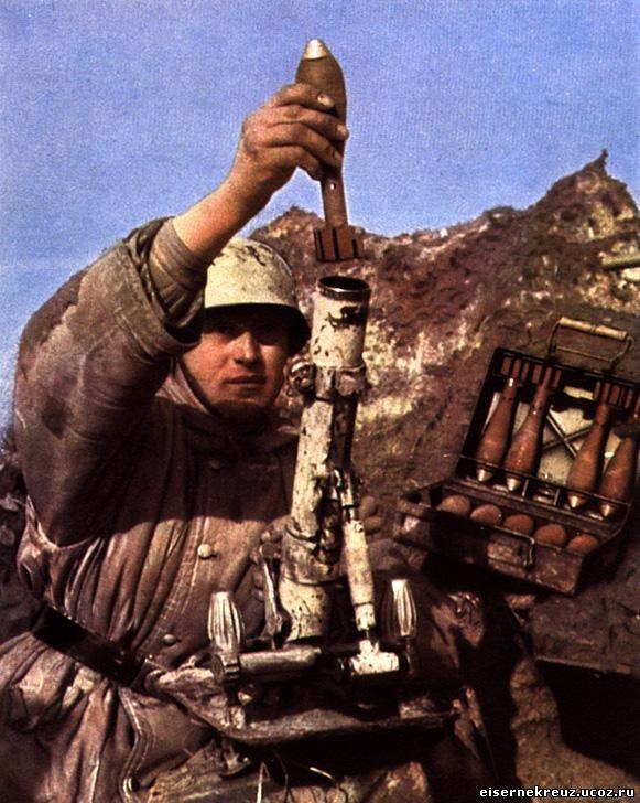 минометная мина вермахт вторая мировая