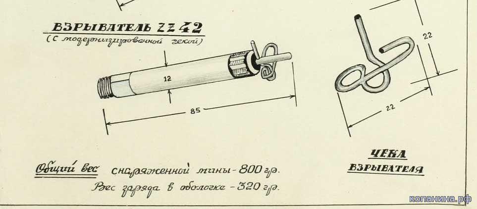 ZZ42 немецкие документы